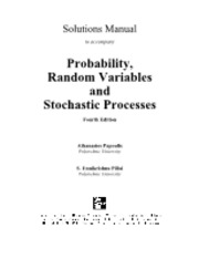 Probability, Random Variables And Stochastic Processes 4Th Ed - A Papoulis, S Pillai (Mcgraw-Hill) W