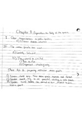 Ch 8 Notes Public Speaking