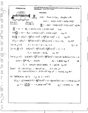 1066_Mechanics Homework Mechanics of Materials Solution