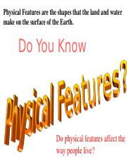 Physical Features Teaching Power Point.ppt