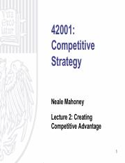 Lecture 2 - Creating Competitive Advantage.pdf