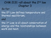 4. CHM2131 second law blank