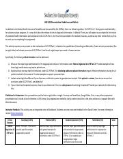 HSE 340 Presentation Guidelines and Rubric
