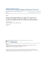 highlight.(S2) Parasocial relationship via reality TV and social media- its impl.pdf