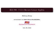 5 Review Linear Algebra