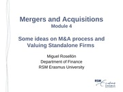 M&A_Lecture_4