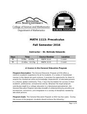 MATH 1113_Pathways Syllabus