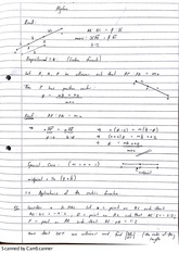 Concurrency of Medians of a Triangle Class Notes