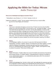 How do we Understand and Apply an Ancient Story audio transcript.pdf