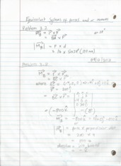 Equivalent Systems Notes
