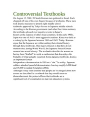 Soci 2050-Controversial Textbooks