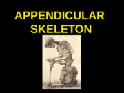 ANP300 Lecture 5-Appendicular Skeleton
