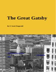 The Great Gatsby (text)