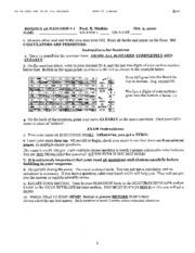 Biology 1A - Fall 2000 - Malkin - Midterm 1