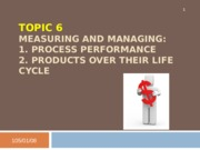 Topic 6 - Managing Process and Product (incomplete) - 副本