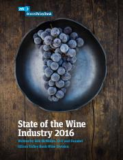 industry wine report