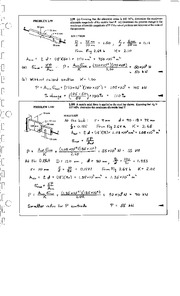 136_Mechanics Homework Mechanics of Materials Solution