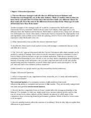 Chapter 1 Discussion Questions strategic management.docx