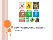 Environmental Effects on Health Chapter 12