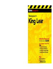 Shakespeare's King Lear (Cliffs Notes) ( PDFDrive ).pdf
