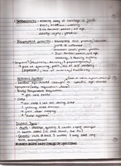 Class notes, The Body