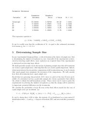 Notes Part 5 - Determining Sample Size