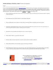 radiolab podcast crispr homework assignment