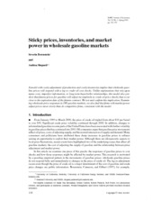 2002_RJE_Sticky prices, inventories, and market power in wholesale gasoline markets