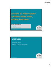 SIT254Lecture 02 2016 Video Game Systems.pdf