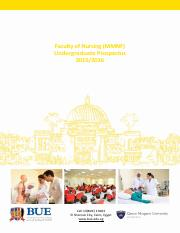 BUE Faculty of Nursing Background