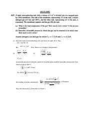 CHE 351 Thermodynamics I HW 5 solution.docx
