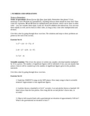 ISEE Math - Numbers and Operators - Test Prep