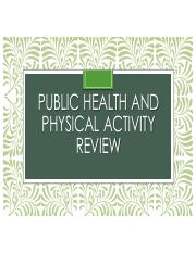 Public Health and Physical Activity Review F'16.pdf