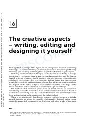 4. The creative aspects—writing, editing and designing it yourself.pdf