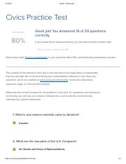 USCIS - Test Results
