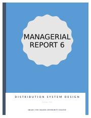 Managerial Report 6.docx