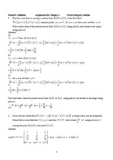 Ch.5 Assignment_Surface Integral_Soln