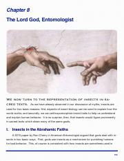 Ent 2101 - Chapter 8 - The Lord God, Entomologist.pdf