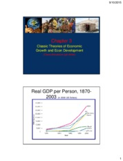 Chapter 3 Classic theories of econ growth and econ development-2