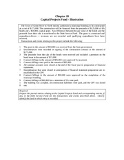 Ch 20 Capital Project Fund Example