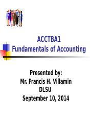 -Acctba1 - Lesson 2 - Financial Statements