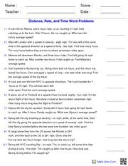 worksheet. Distance Rate Time Worksheet. Grass Fedjp Worksheet ...