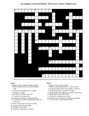 C.P.A.'s study -- Crossword clue   Crossword Nexus