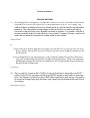 FIN330 Problem Solutions Chapter 3