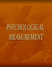 PSYCHOLOGICAL MEASUREMEMNT.ppt