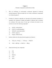 Chapter 2 Recitation Questions