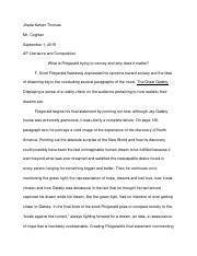 gatsby final pg