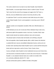 Intro to Italy rough draft