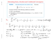 Math 104 Ch10 Alternating Series