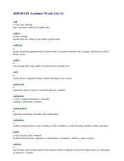 ielts word 3 pdf - 4000 IELTS Academic Words List(3 cab n